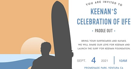 2nd Annual Paddle Out Celebration of Life & Scholarship Award tickets