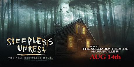 Sleepless Unrest tickets