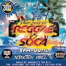 REGGAE VS SOCA tickets