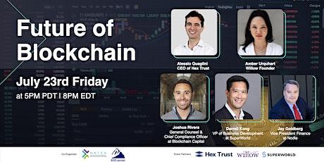 Future of Blockchain & Crypto tickets