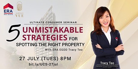[UCS] 5 Unmistakable Strategies for Spotting the Right Property tickets