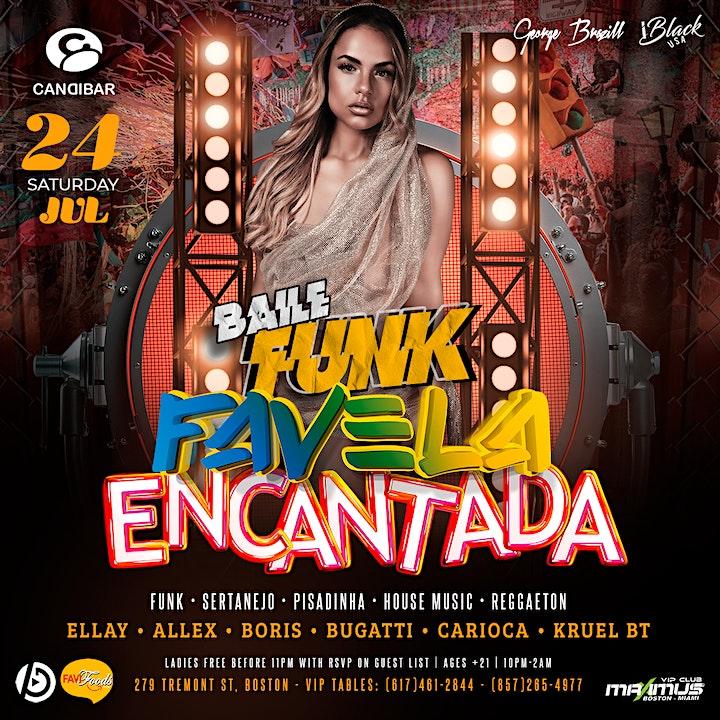 FAVELA ENCANTADA @ Candibar | Guestlist (Must Submit RSVP) image