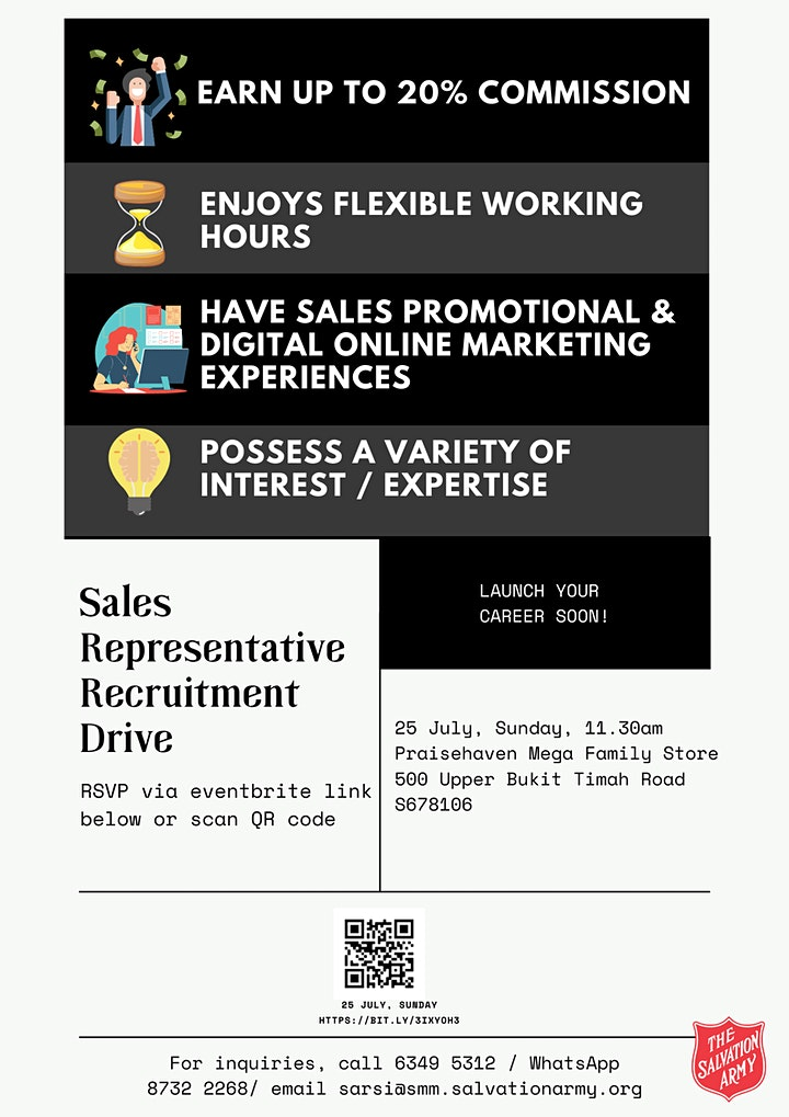 Sales Representative Recruitment Drive image