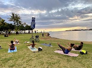 Sunset Yoga with Melanie at Magic Island tickets