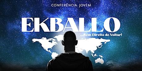 Conferência EKBALLO ingressos