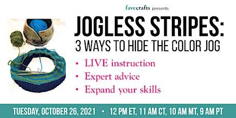 Jogless Stripes: 3 Ways to Hide the Color Jog tickets