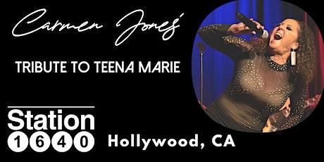 Hollywood, CA: CARMEN JONES Tribute to TEENA MARIE tickets