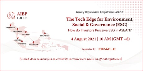 The Tech Edge for ESG tickets
