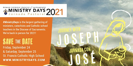 Ministry Days 2021 / Jornada Pastoral 2021  Sept 24 & Sept 25 tickets