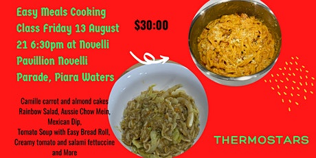 Easy Meals with your Thermomix tickets