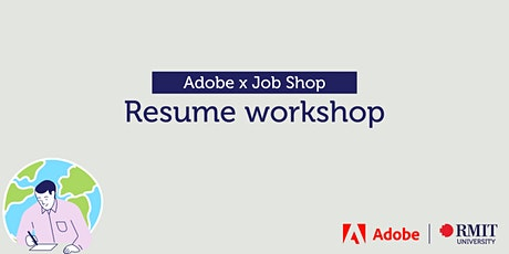 Adobe x Job Shop: Resume workshop tickets