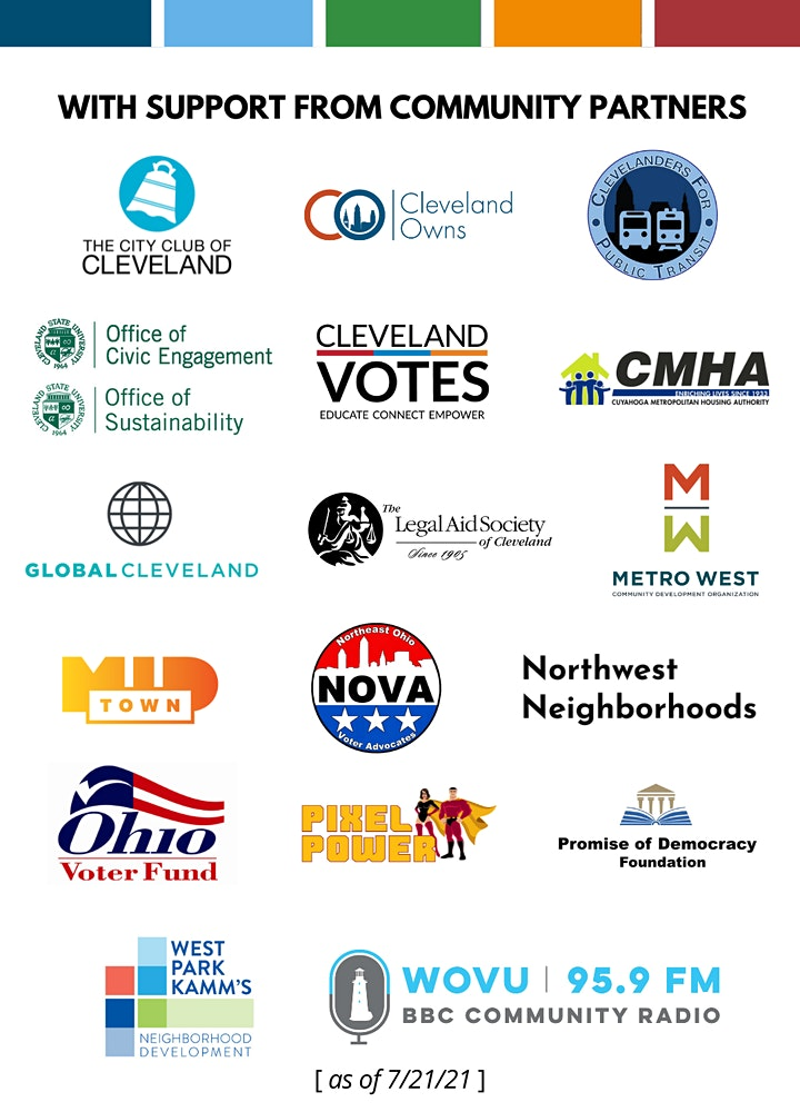 CLE Mayoral Candidate Forum:  For a Healthier & More Equitable Environment image