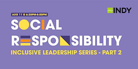 DEI Workshop Series | Social Responsibility tickets