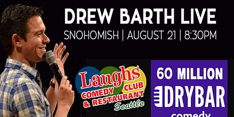 Drew Barth Live in Snohomish (slash) Maltby tickets