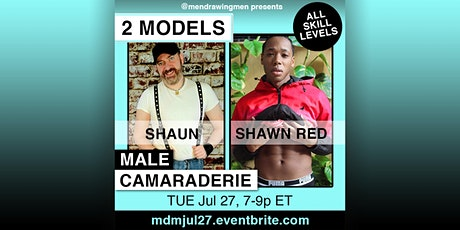 Men Drawing Men (ONLINE)TUE Jul 27(7-9p ET NYC) tickets