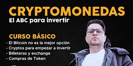 Cryptomonedas, el ABC para invertir tickets