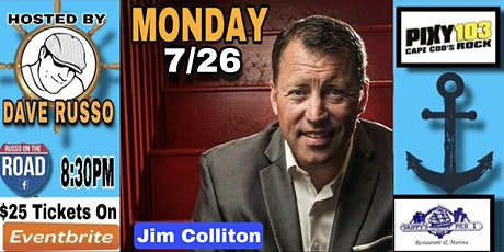 Monday Night Comedy at Skippy's Pier 1 with Jim Colliton 7/26 tickets