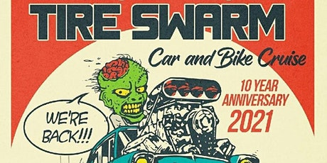 Tire Swarm with Hard Rock Fossils tickets