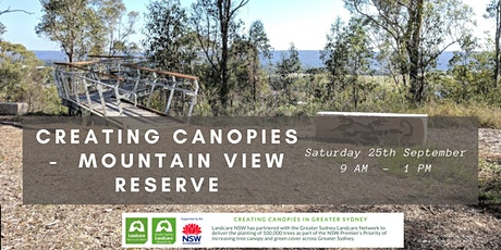 Creating Canopies at Mountainview Reserve - STAGE 2 tickets