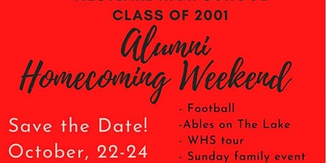 Westlake HS Class of 2001's 20th Reunion tickets