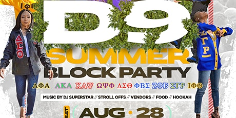 D9 Summer Block Party tickets