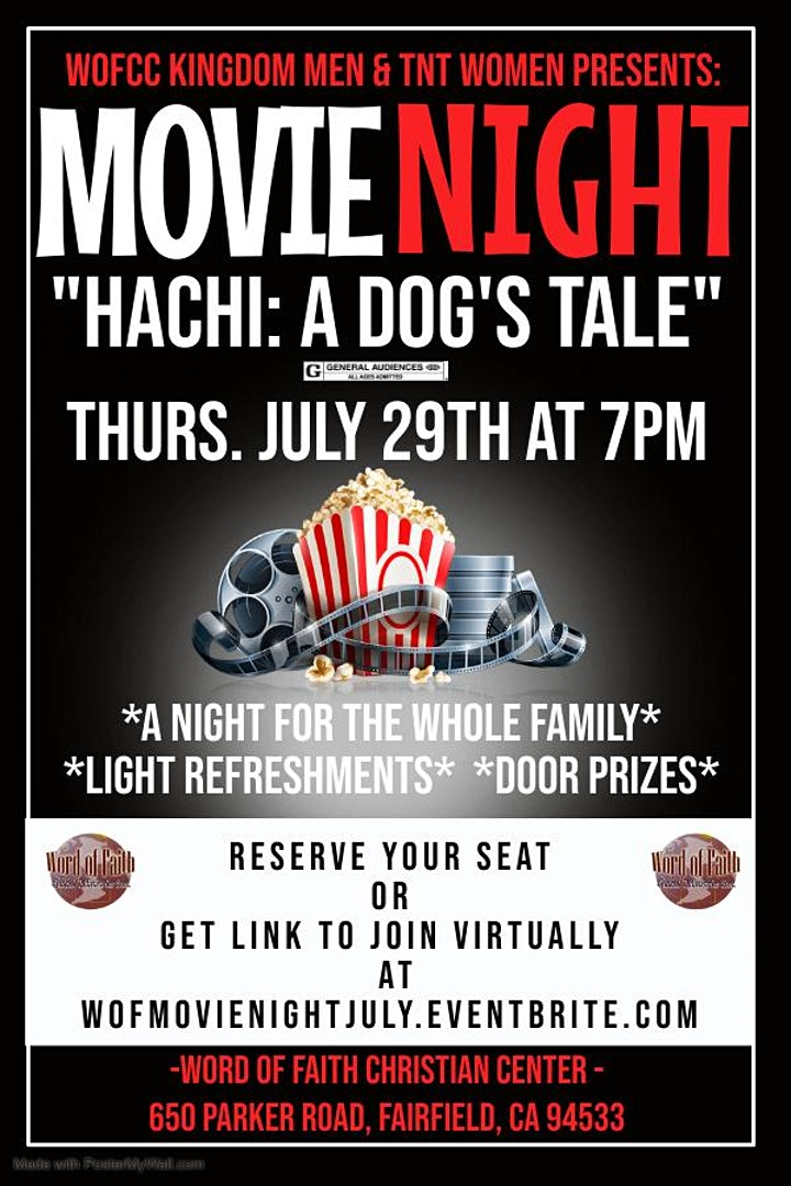 WOFCC Family Movie Night image