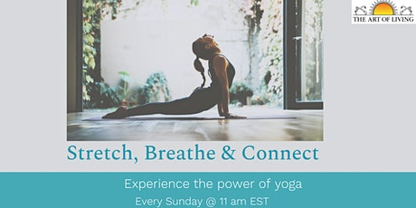 Stretch, Breathe and Connect tickets