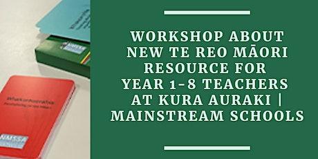 Workshop about Aronuitia te reo - a new reo Māori resource - Wellington tickets