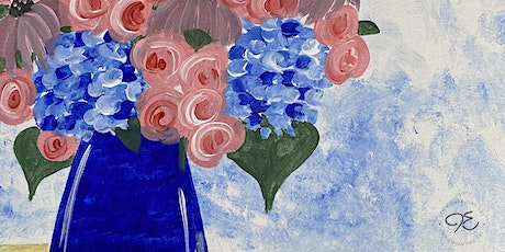 """""""Summer Bouquet""""   Painting on the Porch: Hybrid Edition tickets"""
