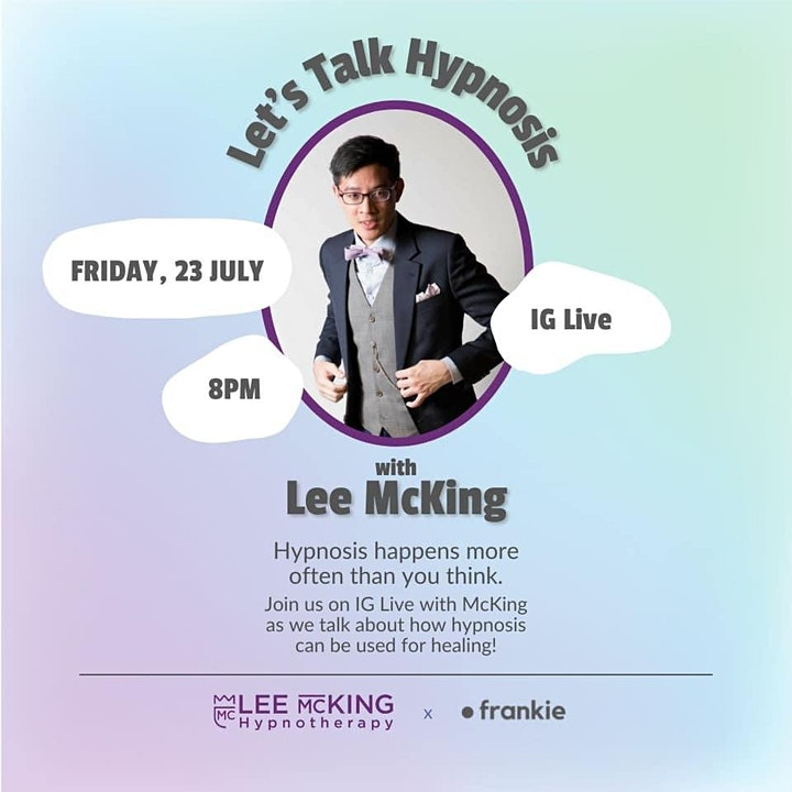 Let's Talk Hypnosis: Hypnosis & Healing with Lee McKing image