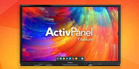 Webinar: Why interactive panels  are the right choice for your classroom. tickets