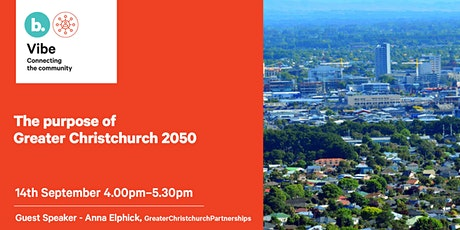 The Purpose of Greater Christchurch 2050 tickets