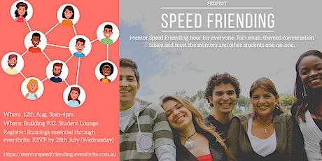 Mentor Speed Friending hour tickets