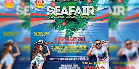 Sea-Fair Latino Boat Party (SUN. AUG 8th) tickets