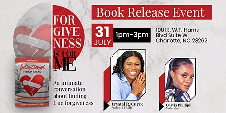 Forgiveness Is For Me - Book Release Event tickets