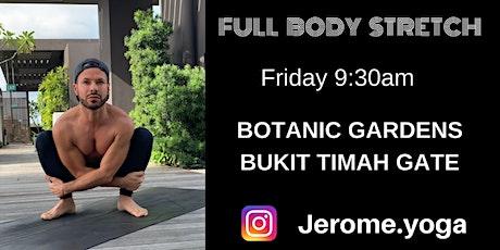 Full Body Stretch at Botanic Gardens tickets