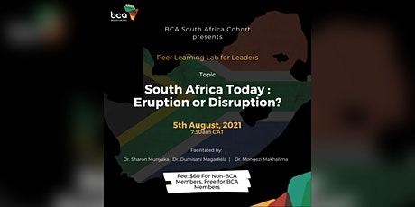 Peer Learning Lab for Leaders - BCA South Africa tickets