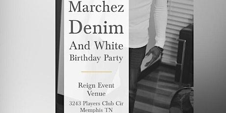 Marchez White And Denim Birthday Party tickets