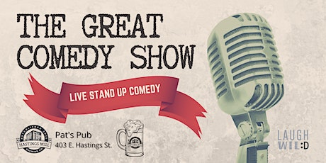 The Great Comedy Show tickets