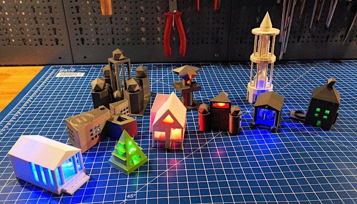 FabLabKids: Kindergeburtstag - 3D-Druck: Bild
