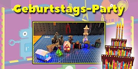 FabLabKids: Kindergeburtstag - 3D-Druck Tickets