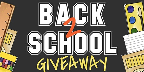 3rd Annual School Backpack Giveaway tickets