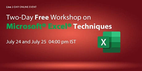 Microsoft Excel Techniques tickets