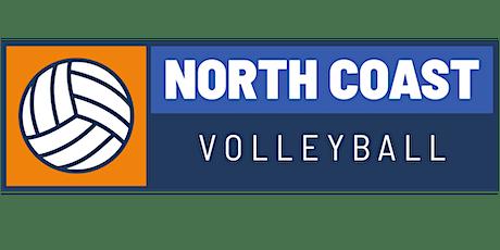 North Coast Volleyball Club Tryouts, 15 & 16 Girls Power 2021/2022 Season tickets