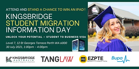 STUDENT MIGRATION DAY   Unlock Your Potential - Student to Business Visa tickets