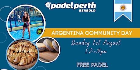 ARGENTINA COMMUNITY DAY tickets