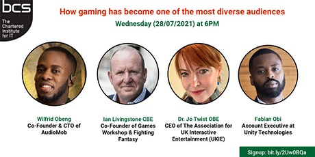 BCS EMBRACE Gaming : How gaming has become the most diverse audience tickets