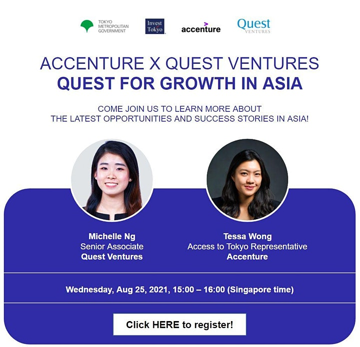 Quest for Growth in Asia, by Quest Ventures & Accenture image