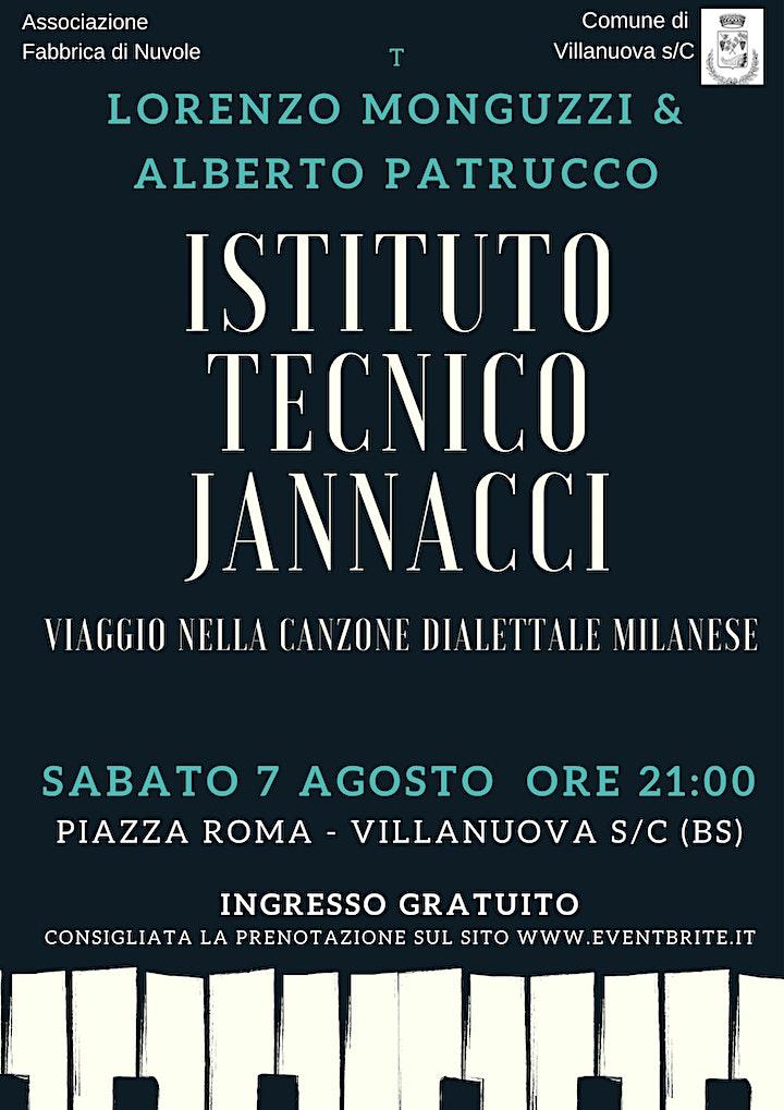 Immagine Istituto Tecnico Jannacci  - viaggio nella canzone dialettale milanese