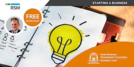 Starting a Business (Geraldton) tickets